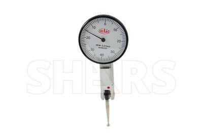 Shars Metric Dial Test Indicator .01mm Grads 0-40-0 Dial .8mm Range New