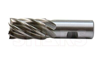 Shars 1-18 X 1 Hss Six Flute Single End Center Cutting End Mill New