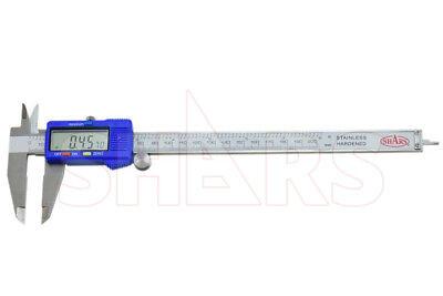 Shars 8 200mm Electronic Digital Caliper Stainless .0005 Fraction 1128 New S
