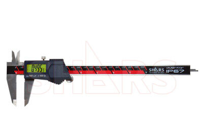 Shars Aventor 8 200mm Ip67 Electronic Digital Caliper Din862 .0005 New A