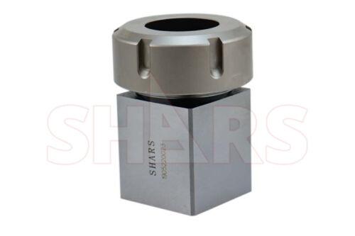 Shars ER40 Square Collet Block Holder for CNC Lathe Engraving Machine New