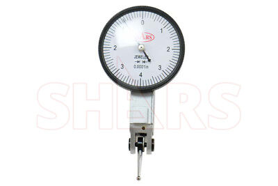 Shars .008 Large 0-4-0 Dial Test Indicator .0001 Case New