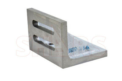 Precision Ground .0005 Per 6 Slotted Angle Plate 4-12 X 3-12 X 3 Webbed L