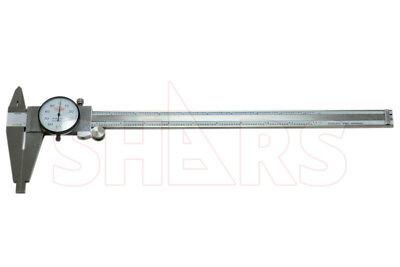 Shars 12 Stainless Steel Long Range Dial Caliper Heavy Duty New