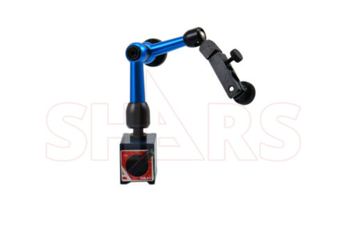 Shars Mini Flexible Magnetic Base Holder Stand For Dial Test Indicator NEW ^]