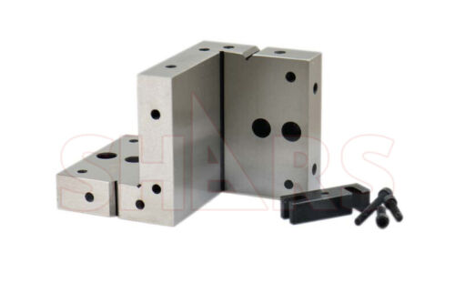 """SHARS 6 x 4 x 1 x 1/4"""" COMPOUND ANGLE PLATE CLAMP .0002"""" NEW"""