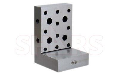 Shars Precision Toolmaker 6 X 4 X 4 X 1-14 Ground Angle Plate 0.0002 New R