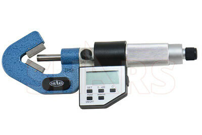 Shars .2-.8 Electronic V-anvil Micrometer New