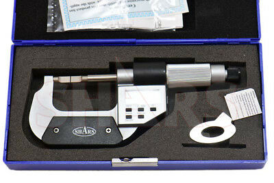 Shars 0-1 Electronic Blade Micrometer New
