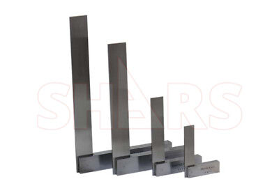 Shars Precision Steel Hardened 46912 Machinists Work Shop Squares Sets New