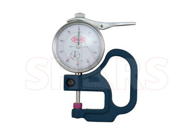 Shars 0-0.5 Dial Thickness Gauge Gradiation .001 New