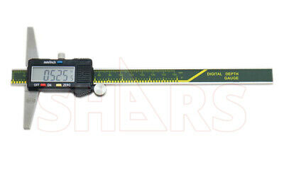Shars 0-6 150mm Caliper Digital Electronic Depth Gage Gauge New