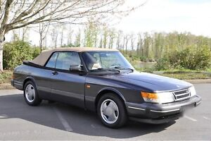 1994 Saab 900 Turbo Commemorativ Cabriolet Decapotable Convert.