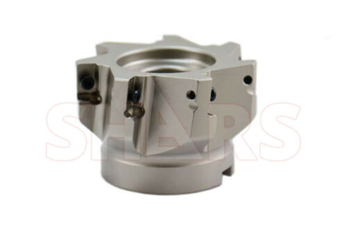 """3"""" 90° INDEXABLE FACE MILL APKT 1604 INSERT 7FL W/Certificate save $316.05 A["""