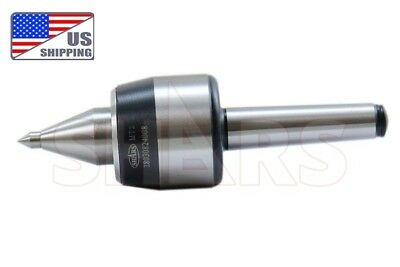 Shars Mt 2 Morse Taper Cnc 0.0002 Long Nose Live Center 265lbs Certificate A