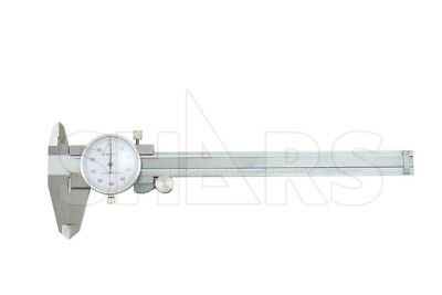 Shars 0- 6 X 0.1 4 Way Dial Caliper Stainless Steel Shock Proof New