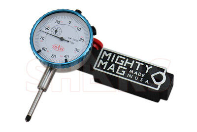Mighty Mag 400-1 Universal Magnetic Base 0 - 1 Dial Indicator Usa P
