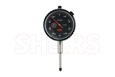 1 Premium Dial Indicator .0005 Agd2 Wcertified Carbide Pointlug Back New