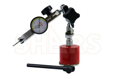 Shars Mini Universal Magnetic Indicator Holder .0005 Dial Test Indicator New