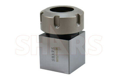 Shars Er32 Square Collet Block Holder For Cnc Lathe Engraving Machine New