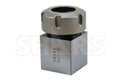"ER32 Square Collet Block Holder .001"" parallelism CNC Lathe Engraving Machine ^["