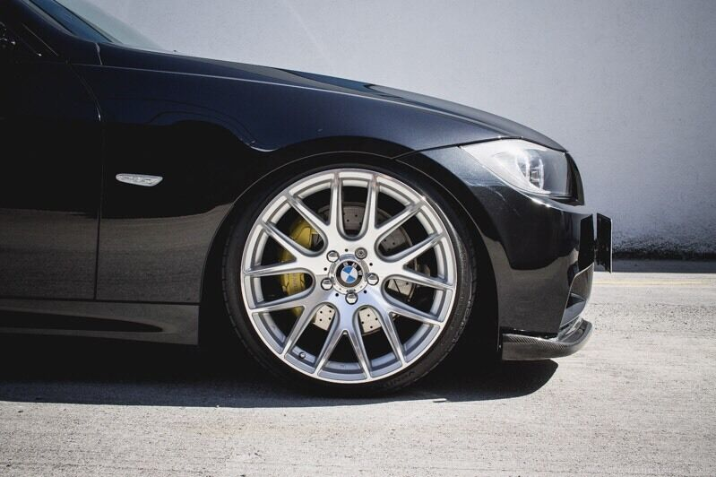 Bmw 18 Inch Csl Vmr 3sdm Concave Staggered Alloy Wheels