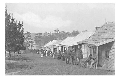 LAKE TYERS Aboriginals houses Gippsland 1898 Modern Digital Photo Postcard