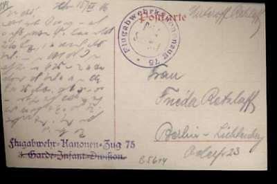 (5614)   Fpak=Siebenbürger Trachten 1916 n. Berlin m. viol. Rund-/Zeilenste