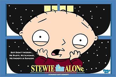 Familienmensch Plakat ~ Stewie Griffin Home Alone ()