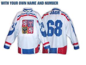Team-hockey-jersey-of-Czech-Republic-white-customized