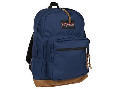RRP £70 Jansport right pack special edition Grey//blue streak Corduroy 31L