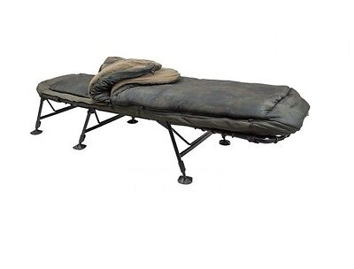 Nash Tackle NEW Indulgence SS3 5 Season Sleep System Bedchair - T9405