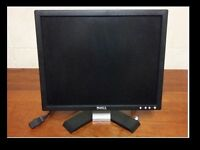 "Dell 17"" screen monitor with leads"