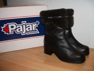 "neuves "" PAJAR "" shearling bottes mouton -- fit size 9 - 9.5 US"