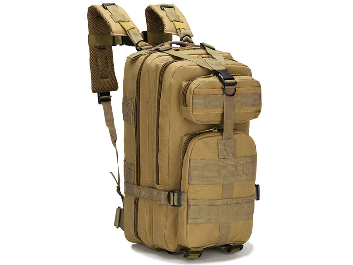 8L/10L/30L/55L/80L Outdoor Military Tactical Camping Hiking Trekking Backpack  30L Khaki