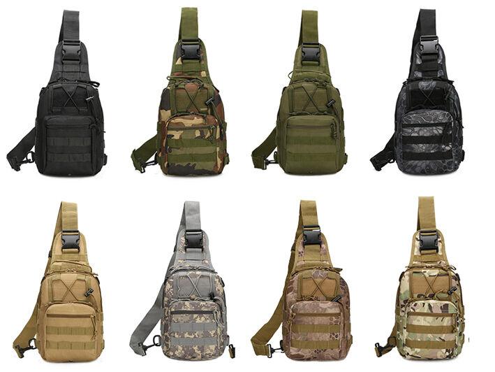 Outdoor Shoulder Military Tactical Backpack Travel Camping  Hiking Trekking Bag