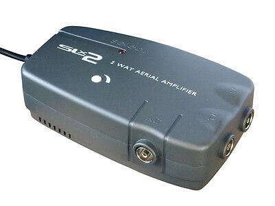PHILEX SLX 278822HSG 2 DIGITAL TV AERIAL BOOSTER AMPLIFER TELEVISION 4G FILTER