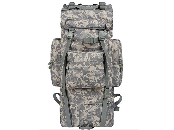 8L/10L/30L/55L/80L Outdoor Military Tactical Camping Hiking Trekking Backpack  80L ACU