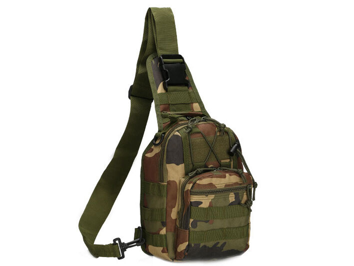 8L/10L/30L/55L/80L Outdoor Military Tactical Camping Hiking Trekking Backpack  8L Woodland Camo