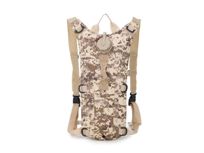 8L/10L/30L/55L/80L Outdoor Military Tactical Camping Hiking Trekking Backpack  3L Digital Desert Camo