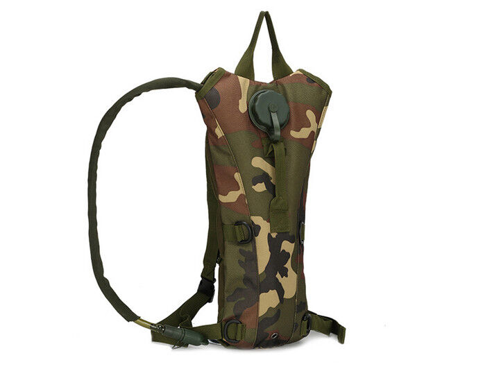 8L/10L/30L/55L/80L Outdoor Military Tactical Camping Hiking Trekking Backpack  3L Woodland Camo