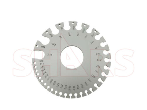 WIRE & SHEET METAL GAGE GAUGE STAINLESS STEEL FOR NON FERROUS METAL 0.325~0.005