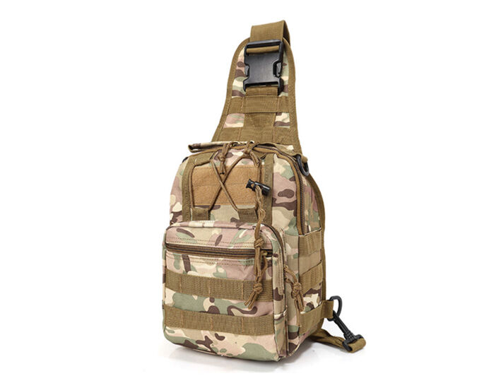 Outdoor Shoulder Military Tactical Backpack Travel Camping  Hiking Trekking Bag Scorpion w2 OCP