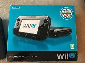Nintendo WiiU 32GB Black