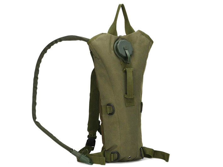 8L/10L/30L/55L/80L Outdoor Military Tactical Camping Hiking Trekking Backpack  3L Green