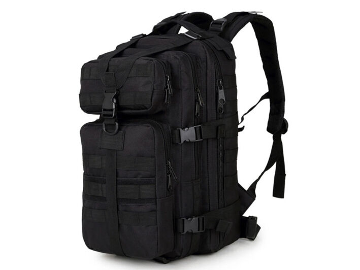 8L/10L/30L/55L/80L Outdoor Military Tactical Camping Hiking Trekking Backpack  30L Black