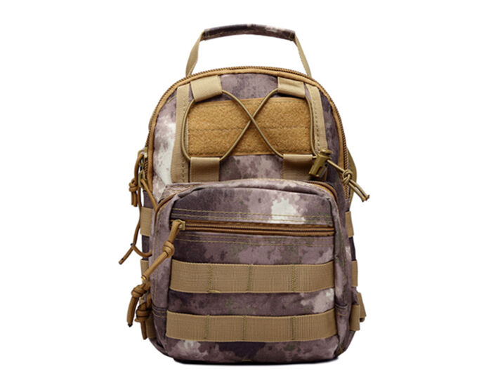 Outdoor Shoulder Military Tactical Backpack Travel Camping  Hiking Trekking Bag A-TACS Arid