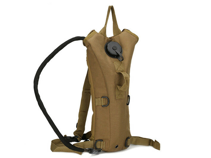 8L/10L/30L/55L/80L Outdoor Military Tactical Camping Hiking Trekking Backpack  3L Khaki