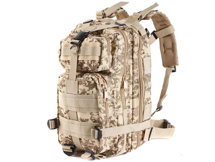 8L/10L/30L/55L/80L Outdoor Military Tactical Camping Hiking Trekking Backpack  30L Digital Desert Camo