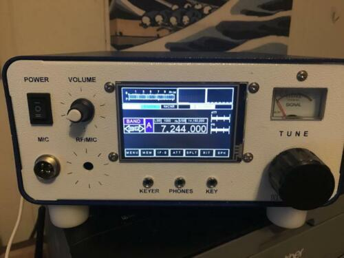 Ubitx V4 QRP Radio in Case
